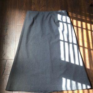 Banana Republic Gray Dress Skirt